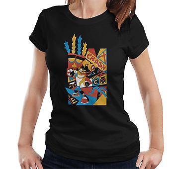 Crash Bandicoot Tribal Art Women's T-Shirt