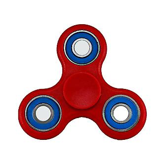 High Performance Spin-R Fidget Play Stress-Relief Tri-Spinner, Red/Blue #11669R