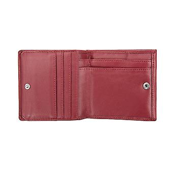 Primehide Womens Small Leather Wallet RFID Blocking Coin Tray Purse Ladies 6001