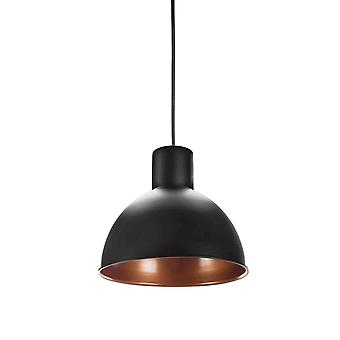 Ceiling lamp Pendant Black/Copper