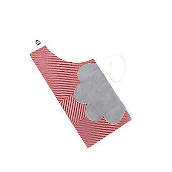 Household Hand Wipe Waterproof Apron Green 69x71cm