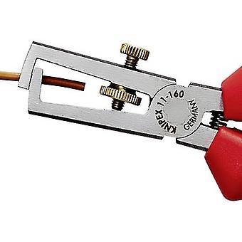 Knipex 11 05 160 11 05 160 كابل متجرد 10 مم ² (كحد أقصى) 7 (كحد أقصى) 5 ملم (كحد أقصى)