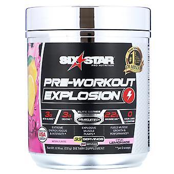 Six Star, Pre-Workout Explosion, Pink Lemonade, 8.16 oz (231 g)