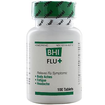 MediNatura, BHI Flu +, 100 Tablets