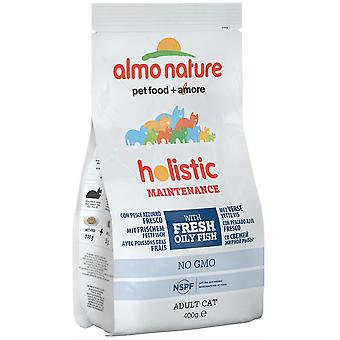 Almo Nature Holistic Maintenance Cat Dry Food With White Fish And Rice - 400g