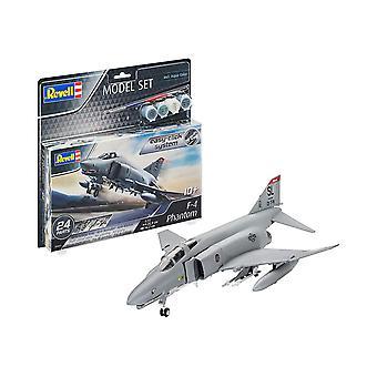 Revell 63651 F-4E Phantom, Gris, 1/72 Kit modèle en plastique