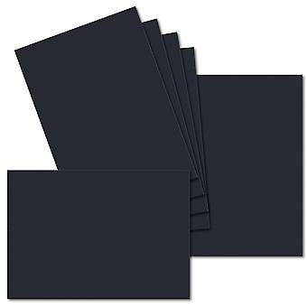 Tummansininen. 148mm x 210mm. A5 Vakio. 235gsm korttiarkki.