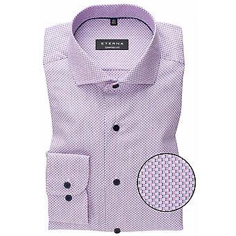 Eterna Mode Eterna Woven Pattern Formal Shirt