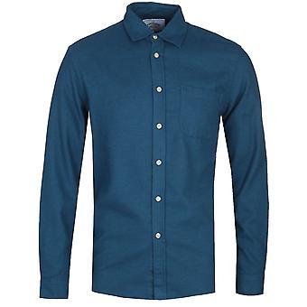 Chemise bleue portugaise Flanelle Teca Français