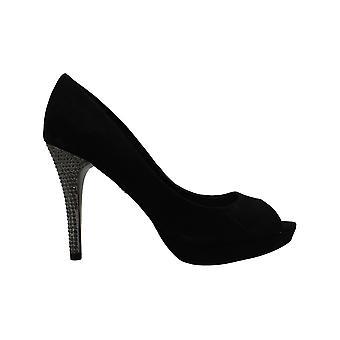 Nina Fiesta Peep-Toe Evening Pumps Women's Shoes