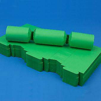 100 Emerald Green Make & Fill Your Own DIY Recyclable Christmas Cracker Boards