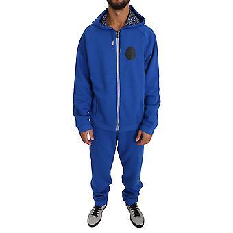 Blue Cotton Pulover Pantaloni Trening BIL1030-2