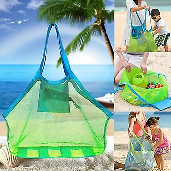 Children Sand Away Protable Mesh Bag Kids Beach, Storage Sundries Bags Kids Toy