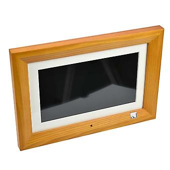 "Digital Photo Frame 10.1"" Hd Tft-lcd 1024*600 Digital Photo Frame Alarm Clock"