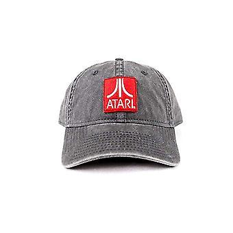 Baseball Cap - ATARI - Lo Profile Grey Strapback Hat New BA06408ARIU