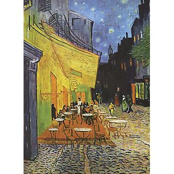 Van Goghs Cafe Terrace at Night Notebook by Van Gogh & Vincent