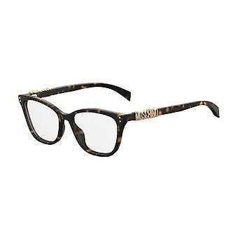 Moschino MOS500 086 Dark Havana Glasses
