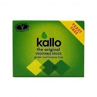 Kallo - Vegetable Stock Cubes Y Free 60g