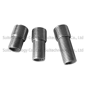 External Teeth Adapter Screw Fine Teeth Hollow Tube Iron Threaded Tube Full