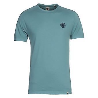 Camiseta azul de Joey Mitchell
