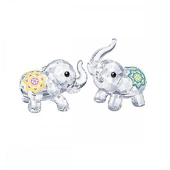 Swarovski Lucky Elephants Crystal Sculpture 5428004