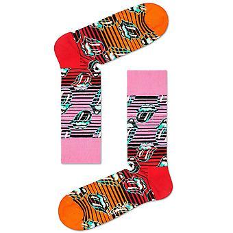Happy Socks Rolling Stones Ruby Tuesday Socks - Multi