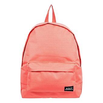 Roxy Sugar Baby Textured Backpack - Deep Sea Coral