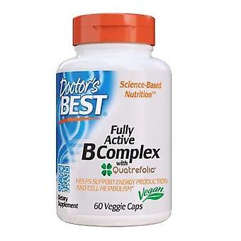 Doctors Best Fully Active B Complex, 30 Veggie Caps
