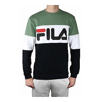 Fila Straight Blocked Crew 688050A437 universal all year men sweatshirts