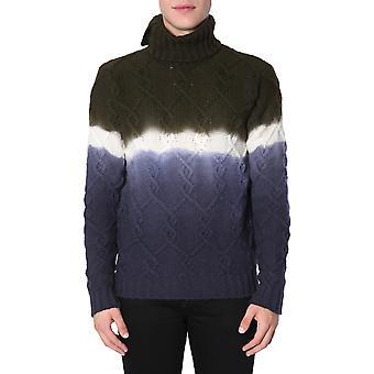 Ballantyne N2p0063w01393676 Men's Multicolor Wool Sweater
