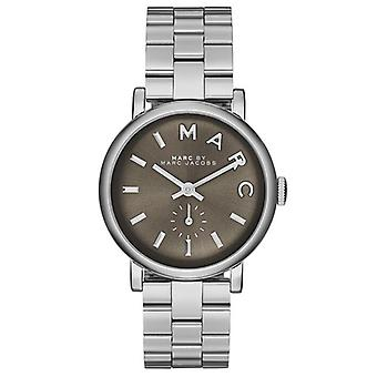 Marc Jacobs MBM3329–Watch for Women Silver Stainless Steel Strap