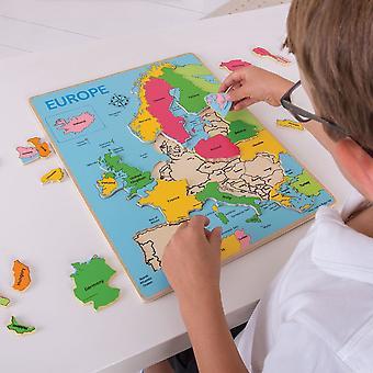 Bigjigs Europe Inset Puzzle