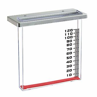 Nature Rain Meter for Balcony 21.5 x 9 x 20 cm