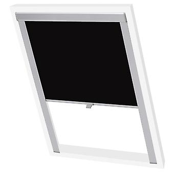 Black-out roller blind black CK04