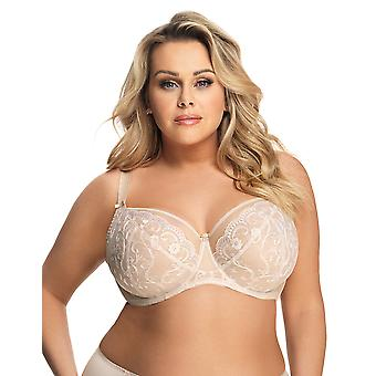 Gorsenia Roma K576 Women's Lace Non-Padded Underwired Full Cup Bra