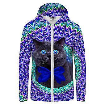 Mr. GUGU & Miss GO Crazy Cat Hoodie Känguru Zip Up