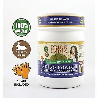 Herbal Indigo Hair Color Powder