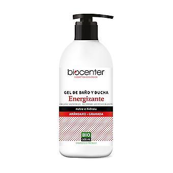Organic Blueberry Pomegranate Energizing Bath and Shower Gel 500 ml