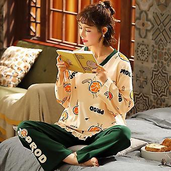 Lovely Avocado Pattern 100% Cotton Short Underwear Pajamas