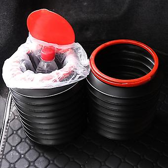 Direct Wind Car Trash Bin Garbage Can Car Wash Telescopic Bucket Folding Trash