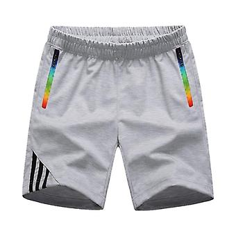 Mens Shorts, Summer Sportswear, Zipper Pocket, Casual Comfort Striped,