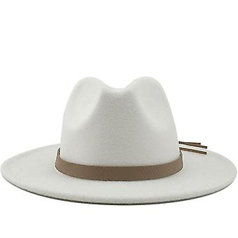 Wide Brim Herfst Trilby Caps / Top Jazz Cap Winter Panama Hat / vintage Fedoras