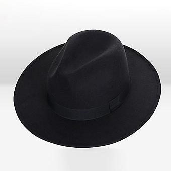 Retro Klassische Filz Jazz / Fedora Hüte mit Big Brim Panama, Hut und