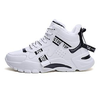 Stiefel, dicke unten rutschfeste warme Schuhe, Pelz warm Knöchel Schnee Stiefel Schuhe