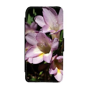 Custodia portafoglio Fresia Flowers iPhone 12 / iPhone 12 Pro