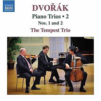 Dvorak / Tempest Trio - Piano Trios 2 / 1 & 2 [CD] USA import