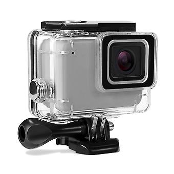 Kupton housing case for gopro hero 7 white/silver waterproof case diving protective housing shell 45