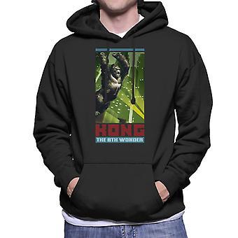 King Kong Den 8: e Wonder City Rage Män&apos, s Hooded Tröja