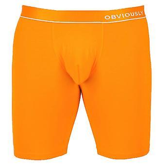 Uppenbarligen PrimeMan AnatoMAX Boxer Kort 6inch Ben - Orange