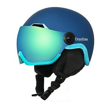 Kask snowboardowy i odpinaną maskę